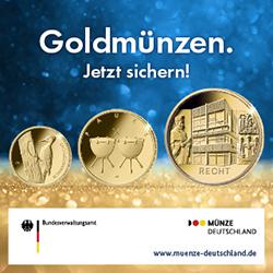 Anzeige Goldmuenzen