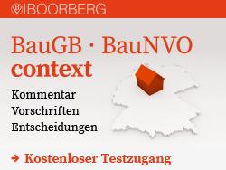 Baugb · BauNVO context