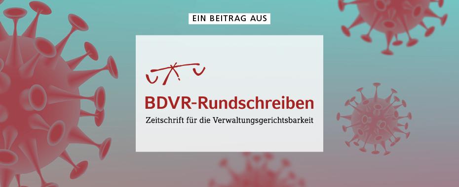 Ein Beitrag aus »BDVR-Rundschreiben« | © Mike Fouque - stock.adobe.com / RBV