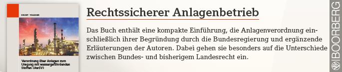 - Anzeige - Rechtssicherer Anlagenbetrieb