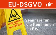 Seminare zur EU Datenschutz-Grundverordnung (EU-DSGVOI)