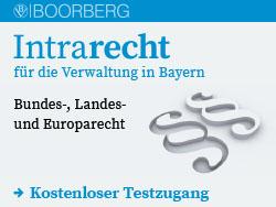 Intrarecht für die Verwaltung in Bayern