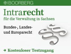 Intrarecht für die Verwaltung in Sachsen