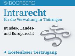 Intrarecht für die Verwaltung in Thüringen