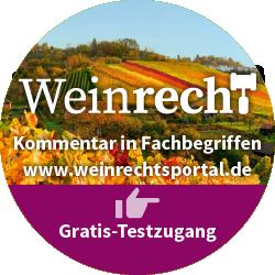 Testzugang zu weinrechtsportal.de